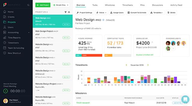 Paymo App - management for freelancers